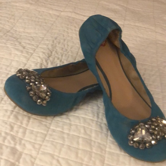 Nordstrom Shoes - Brass Plum from Nordstrom jeweled ballet slippers